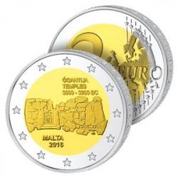 2 Euros Malte 2016 – Site Préhistorique