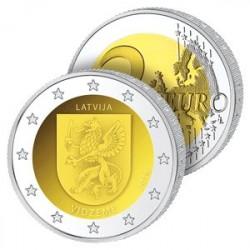 2 Euros Lettonie – Écu de Vidzeme