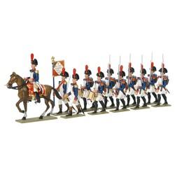 4e Régiment d'Infanterie de Ligne à Austerlitz