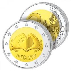 2 Euros Malte – L'Amour