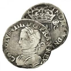Demi-Teston de Charles IX