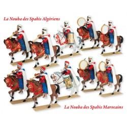 Les Noubas à Cheval des Spahis Algériens et Marocains