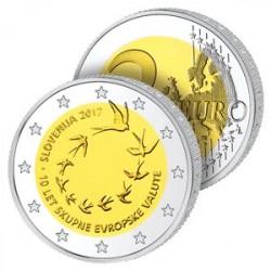 2  Euros Slovénie 2017 – 10 ans de l'Euro