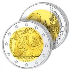 2 Euros Slovaquie 2017 - Université Istropolitana