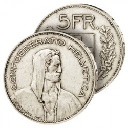5 Francs Argent Suisse type 1931