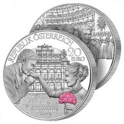 20€ Argent Grand Bal à Vienne