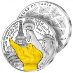 500€ Argent Statue de la Liberté