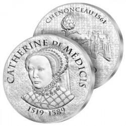 10€ Argent Catherine de Médicis