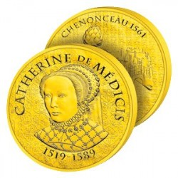 50€ Or Catherine de Médicis