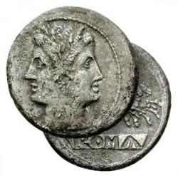 Première Monnaie Romaine en Argent