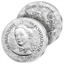 10€ Argent La Pompadour