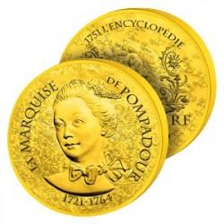 50€ Or Pur La Pompadour