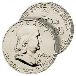 demi-Dollar Argent Benjamin Franklin
