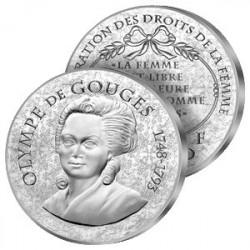 10€ Argent Olympe de Gouges