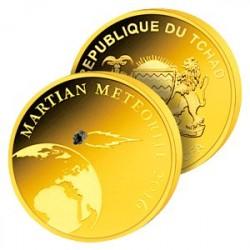 Monnaies Cosmiques en Or - Mars, le premier envoi