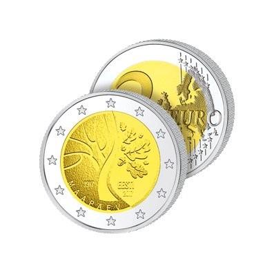 2 Euros Estonie 2017 – Route vers l'Indépendance
