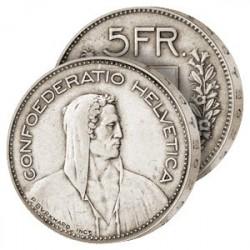 La Dernière 5 Francs Argent Suisse