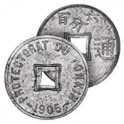 La Monnaie Coloniale du Tonkin Français