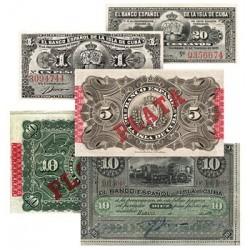 Les 5 Billets du Trésor de Cuba