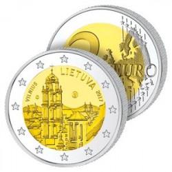 2 Euros Lituanie 2017 – Vilnius la capitale