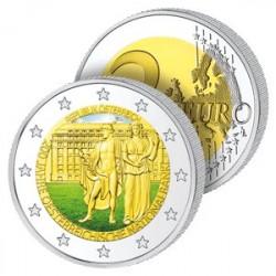 2 Euros Autriche en Couleurs
