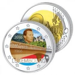 2 Euros Luxembourg 2016 en Couleurs