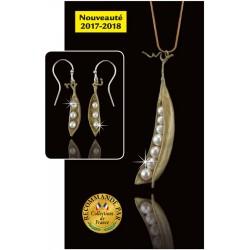Les Boucles d'Oreilles Perles « COCOON »