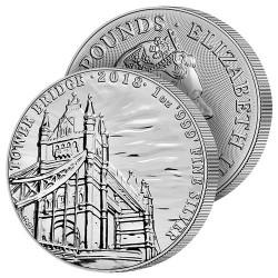 2 Livres Tower Bridge 2018