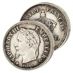 20 Cent. Argent Empereur
