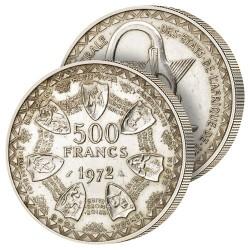 500F Argent Union Monétaire