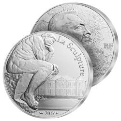 10€ Argent Le Penseur