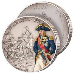 2$ Argent Bataille de Trafalgar