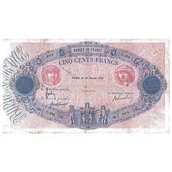 500F Bleu et Rose type 1888