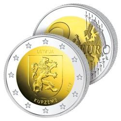 2 Euros Lettonie 2017 – Écu de Kurzeme