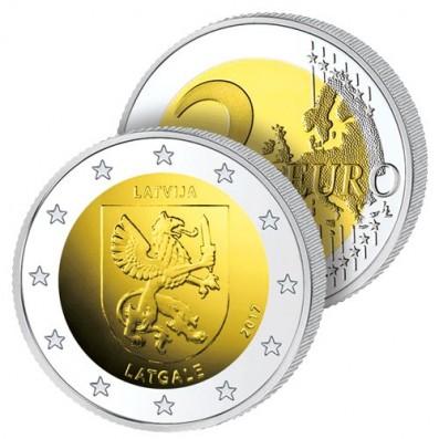 2 Euros Lettonie 2017 – Écu de Latgale