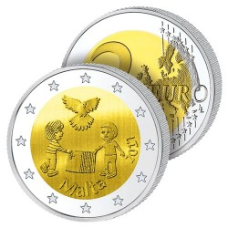 2 Euros Malte 2017 – La Paix