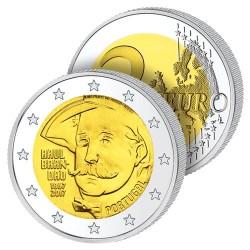 2 Euros Portugal 2017 – L'Écrivain Brandao