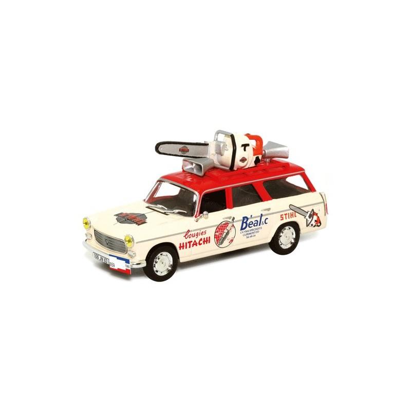 Peugeot 404 Publicitaire Tronçonneuse