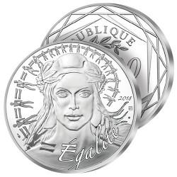 100€ Argent Marianne 2018