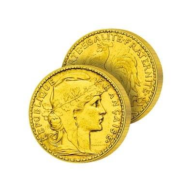 10 Francs Or Marianne et le Coq de France