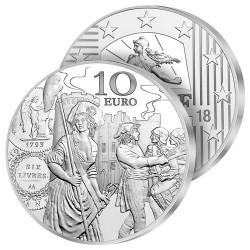 10€ Argent Semeuse 2018