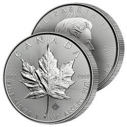 5 Dollars Argent Canada 2018