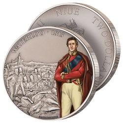 2$ Argent Bataille de Waterloo