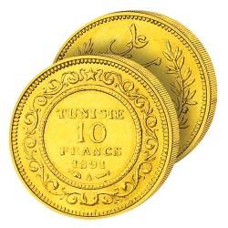 10F Or Tunisie «Française»