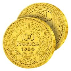 100F Or Tunisie «Française»