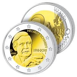 2 Euros Allemagne 2018 – Helmut Schmidt