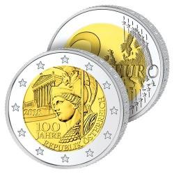 2 Euros Autriche 2018 – 100 ans de la République