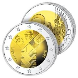 2 Euros Lituanie 2018 – Centenaire des États Baltes