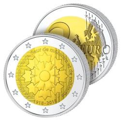 2 Euros France 2018 – Le Bleuet de France