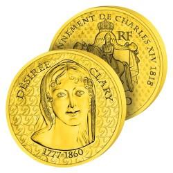 50€ Or Pur Désirée Clary